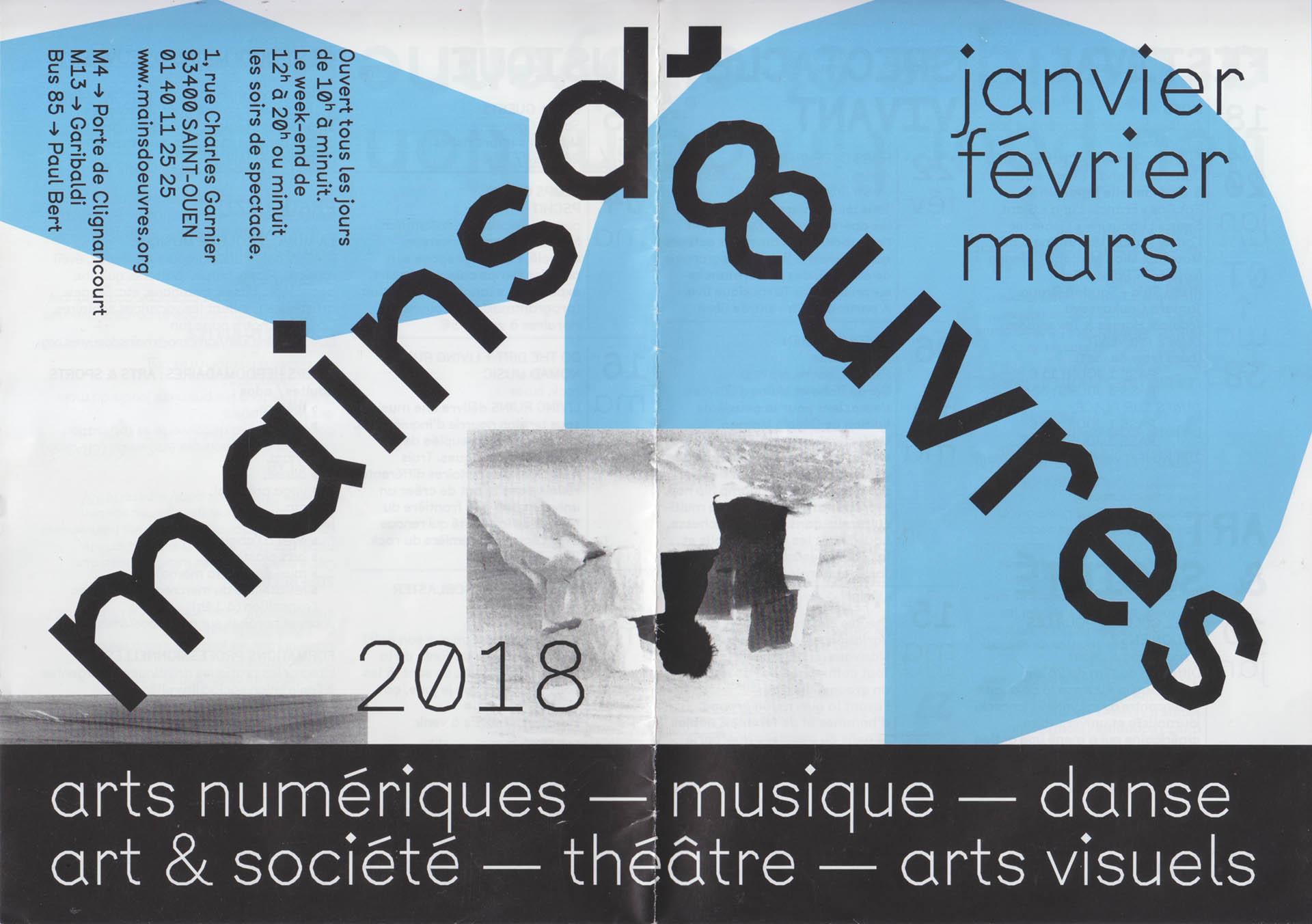 Cyril Makhoul - Mains d'Œuvres — Programme, 2018.