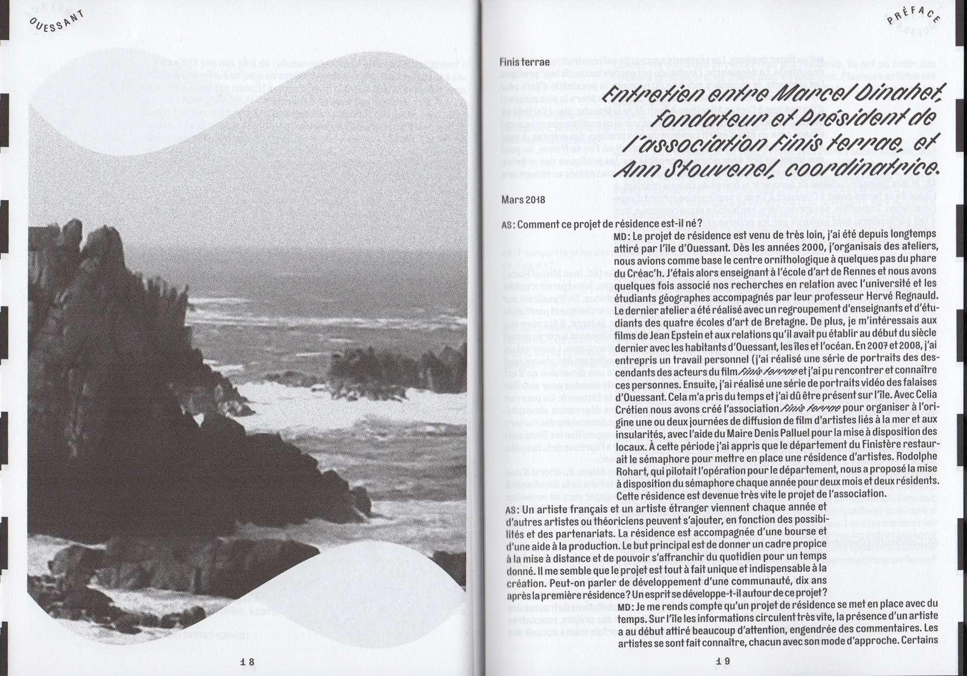 Cyril Makhoul - Ouessant — Catalogue de résidence (link: http://www.finis-terrae.fr/ text: Finis terrae).