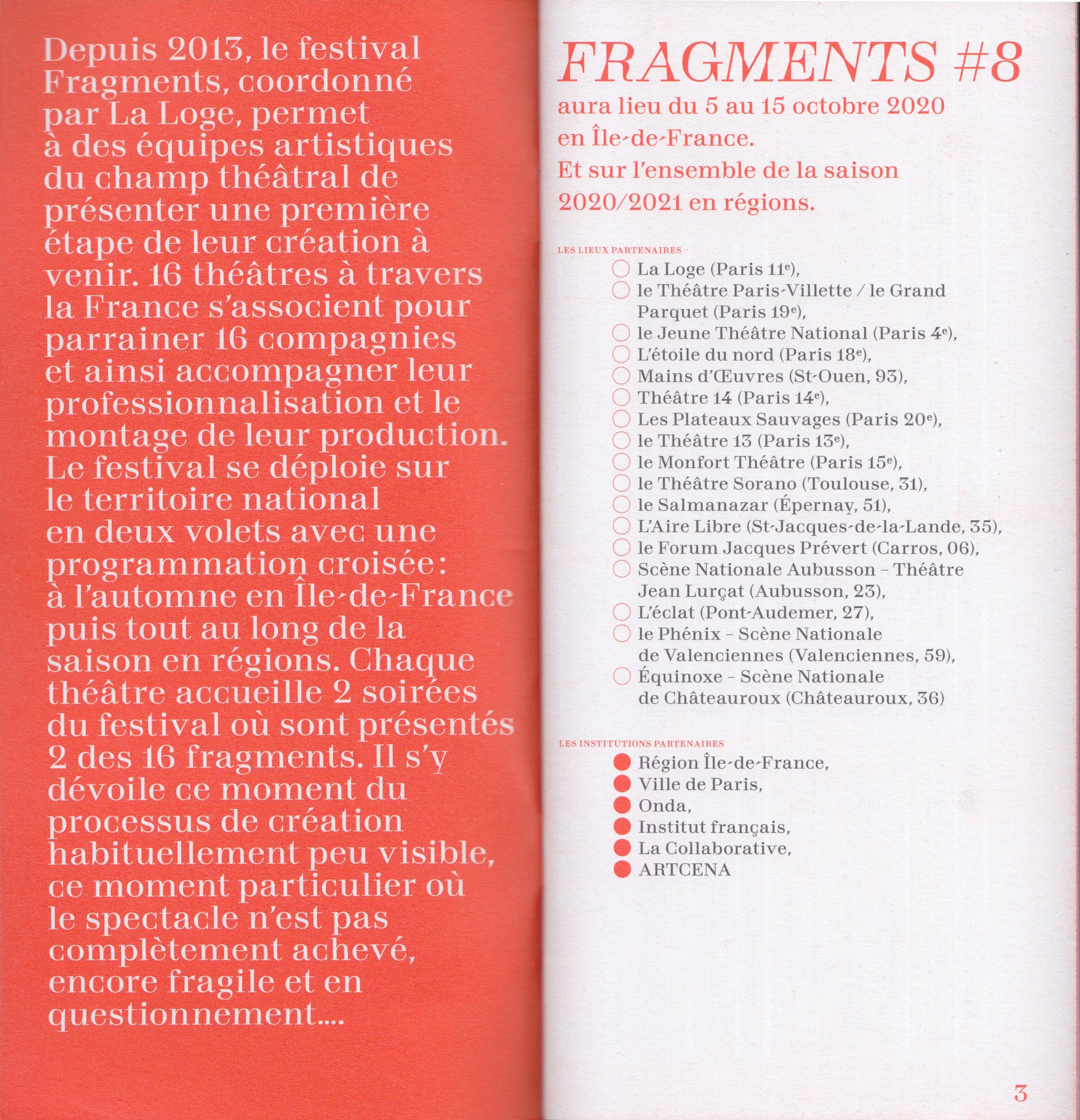 Cyril Makhoul - Fragments — programme