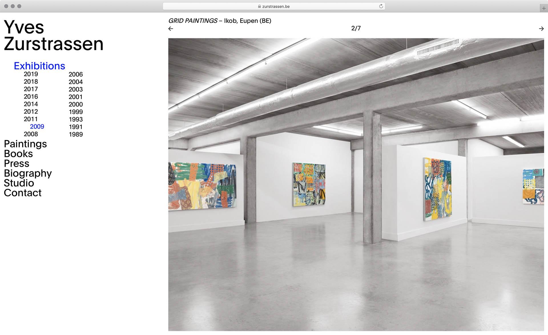 Cyril Makhoul - Yves Zurstrassen — Webdesign.